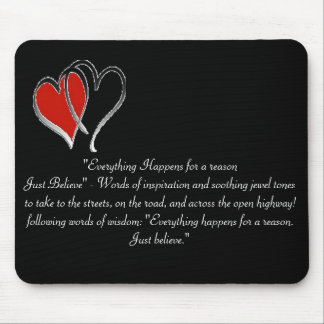 Just Believe - Mousepad