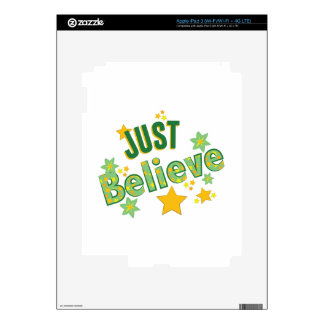 Just Believe Decal For iPad 3