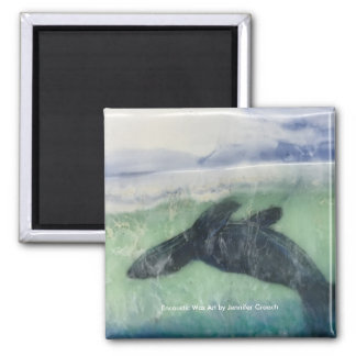 """Just below the Surface: Seal""  Art Magnet"