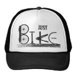 Just Bike Parts Word Graffiti Urban Design Trucker Hat