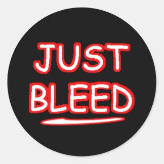 Just Bleed - MMA Sticker