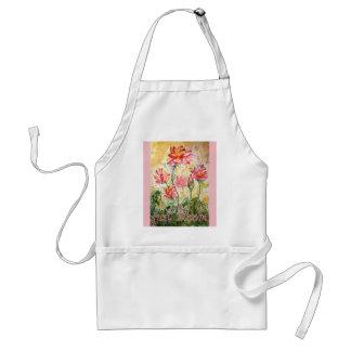 Just Bloom Lotus Watercolor Art Apron