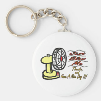 Just Blow Me Keychain