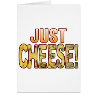 Just Blue Cheese Card