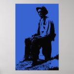 Just Blues Bluesman Print