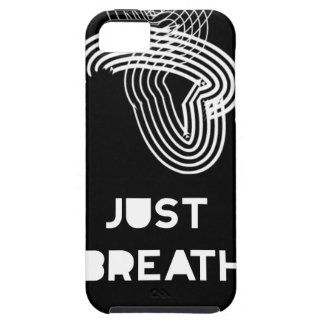 Just Breath iPhone SE/5/5s Case