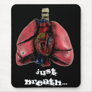 Just Breath Mouse Pad