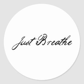 Just Breathe Tattoo Gifts on Zazzle