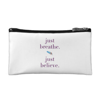 Just Breathe Cosmetic Accessory Pouch Case