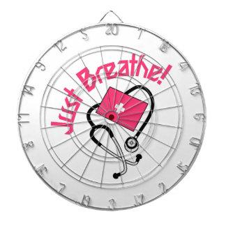 Just Breathe! Dartboard