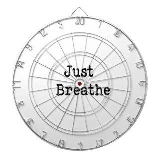 Just Breathe Dartboard With Darts