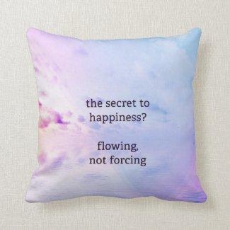Just Breathe Flow Pillow