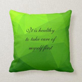 Just Breathe Heart Chakra Pillow