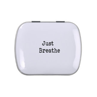 Just Breathe Jelly Belly Candy Tin