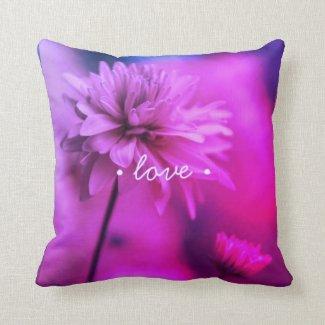 Just Breathe Love Pillow