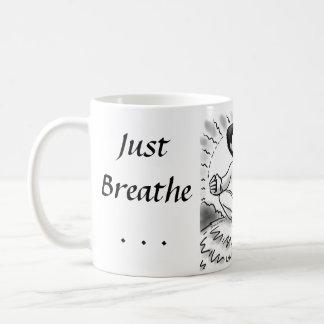 Just Breathe... Classic White Coffee Mug