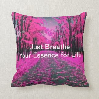 Just Breathe Nature Pillow