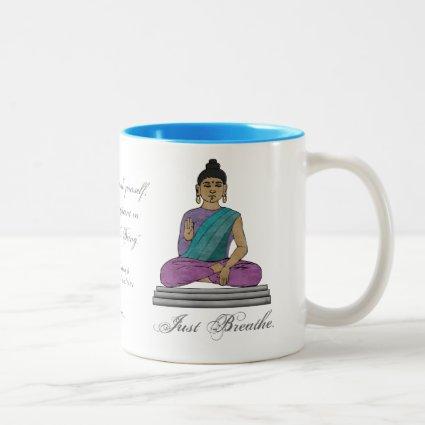 Just Breathe (Personalized Mug)