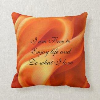 Just Breathe Pillow Sacral Chakra