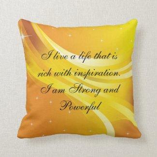 Just Breathe Pillow Solar Plexus
