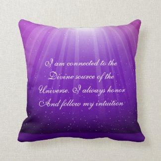 Just Breathe Pillow Third Eye
