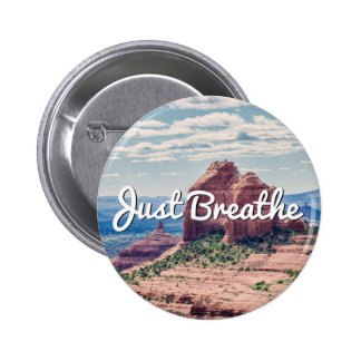 Just Breathe Sedona Background | Button