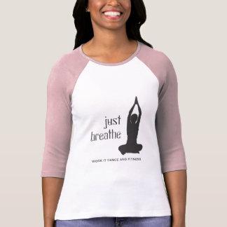 Just Breathe Yoga T-Shirt