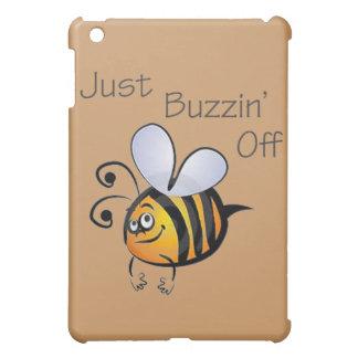 Just Buzzin Off black iPad Mini Covers