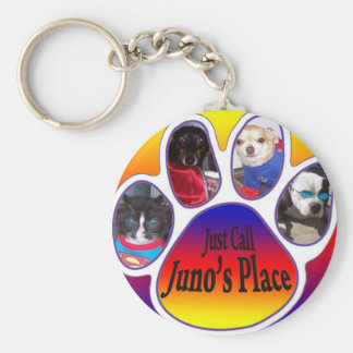 Just Call Juno s place key chain
