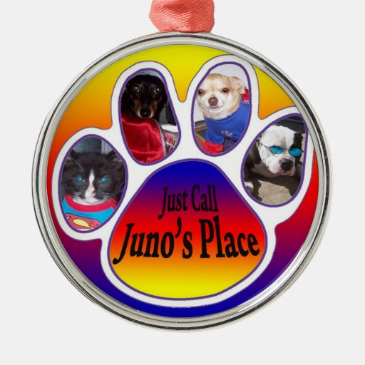 Just Call Juno's Place Tree Ornament