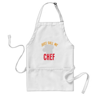 just call me chef adult apron
