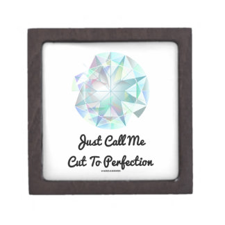 Just Call Me Cut To Perfection Diamond Jewelry Box