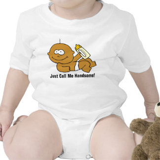 """""""Just Call Me Handsome!"""" Baby Boy Infant T-Shirt"""