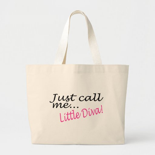 Just Call Me Little Diva Tote Bag