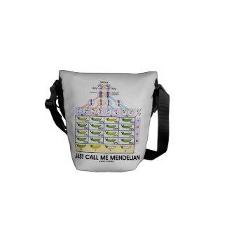 Just Call Me Mendelian (Punnett Square Genetics) Courier Bag