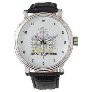Just Call Me Mendelian (Punnett Square Genetics) Wristwatch