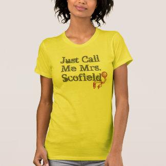 Just Call Me Mrs. Scofield Prison Break Ball+Chain T-Shirt