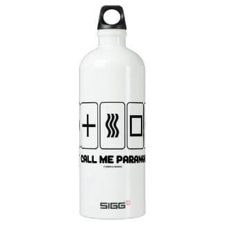 Just Call Me Paranormal (Zener Cards) SIGG Traveler 1.0L Water Bottle