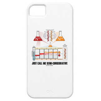 Just Call Me Semi-Conservative (DNA Replication) iPhone SE/5/5s Case