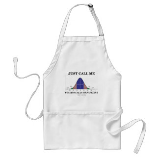Just Call Me Statistically Significant Adult Apron