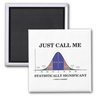 Just Call Me Statistically Significant Magnet