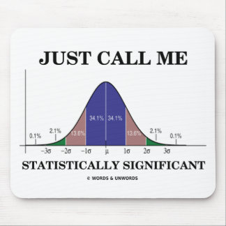 Just Call Me Statistically Significant Mouse Pad