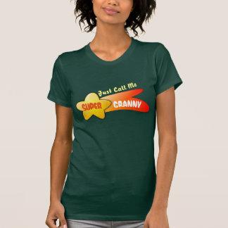 """Just Call Me Super Granny"" & Shooting Star T-Shirt"
