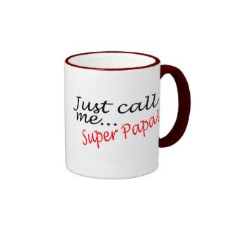 Just Call Me Super Papa Mug
