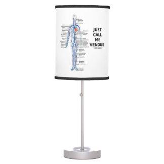 Just Call Me Venous Veins Venous System Desk Lamp