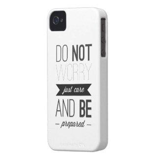 JUST CARE iPhone 4 CASE
