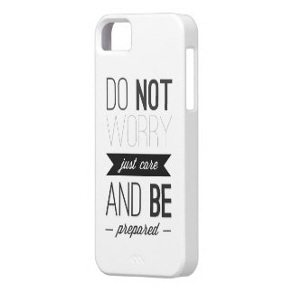 JUST CARE iPhone 5 COVER