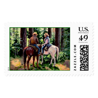 JUST CHATIN'  by SHARON SHARPE Postage