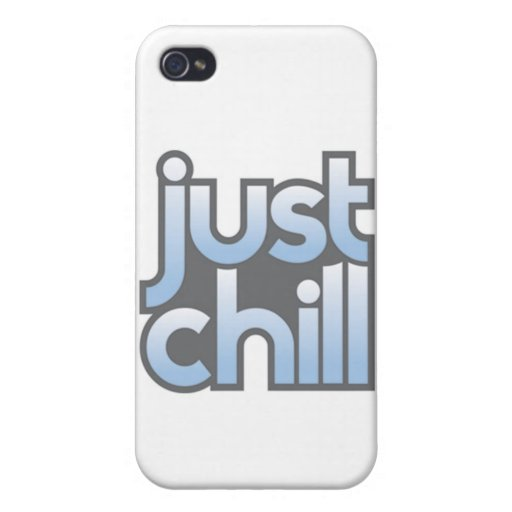 Just Chill - iPhone 4 Case