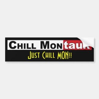 Just Chill Mon!! Bumper Sticker